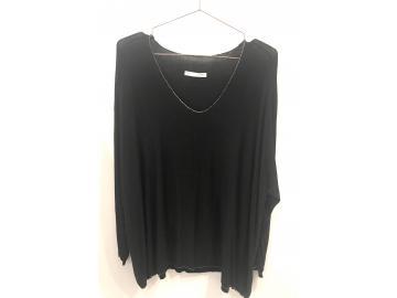 Shirt Basic groß, langarm