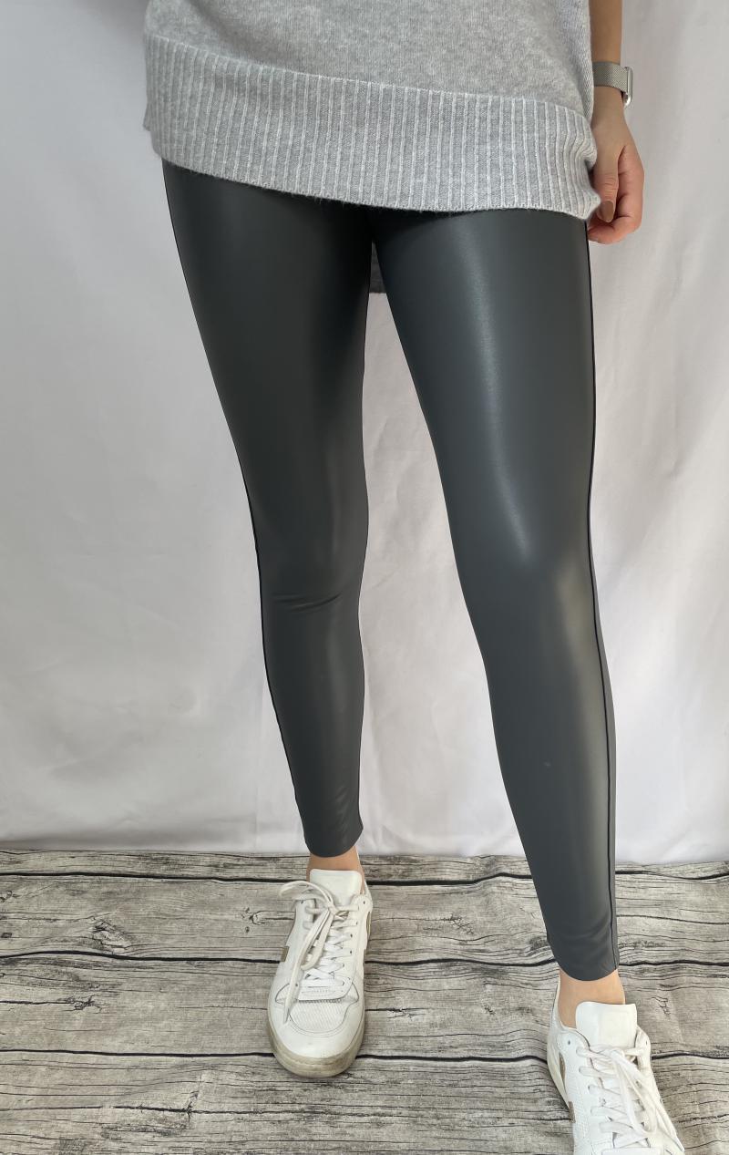 Leggings-Lederimitat